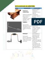 Herramientas Manuales de Carpintería