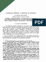Onerosidad Procesal y Principio de Igualdad (Adolfo Gelsi Bidart)