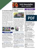 SASi News Mar Apr 2018
