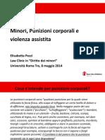 Minori Punizioni Corporali e Violenza Assistita 2014