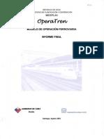 OperaTren Informe Final