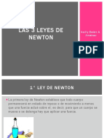 Las 3 Leyes de Newton