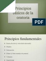Principios Básicos de La Oratoria