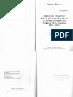 Rosatti, Horacio - DDHH en La Jurisprudencia de La CSJN 2003-2013