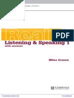 Cambridge English Skills Real Listening Indice