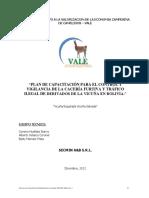 Plan de capacitacion de control de vicuñas