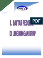 Daftar Pedoman Dan SOP