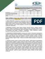 Concurso Firminópolis Conteúdo
