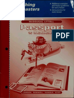 Passport to Mathematics-1
