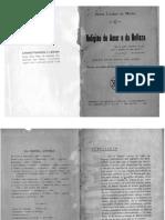 Maria Lacerda de Moura Religião Do Amor e Da Belleza 1929