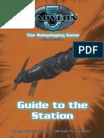 Babylon 5 RPG (2nd Ed.)-Babylon 5 Station Guide Boxed Set[1]