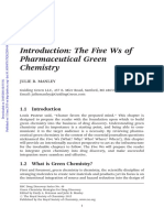 Introduction to Medicinal Green Chemistry
