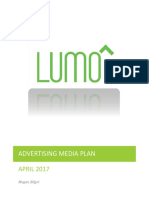 lumo lift advertising media plan