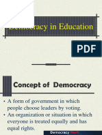Democracy in Education