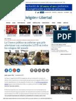 La Unesco Publica Un Informe Que Pide Adoctrinar Con Contenidos LGTB en Todos Los Colegios Del Mundo - ReL