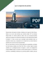DUBÁI, El Exito Que No Depende Del Petroleo