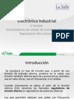 Controladores de Voltaje C a - Reguladores Monofasicos