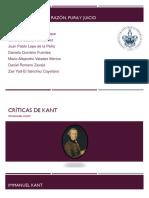 Críticas de Kant