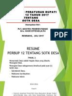 Resume Perbup Sotk