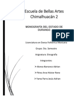 Monografia Durango
