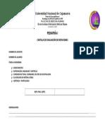 Ficha de Evaluacion Practica. Pediatría i