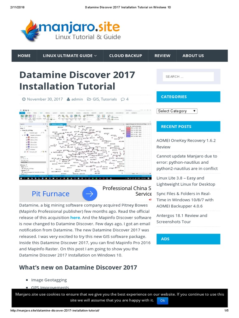 Datamine Discover 2017 Installation Tutorial on Windows 10