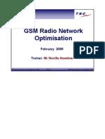 GSM Radio Network Optimisation-Trainnig
