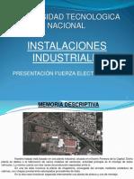 Instalaciones Industriales FEM