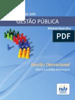 PNAP - GP - Gestao Operacional