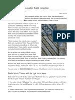 Batikdlidir.com-Batik Fabric Texas Called Batik Paradise