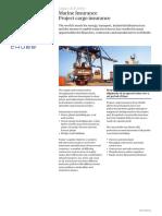 Chubb Marine Insurance Project Cargo UK0131