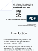 Comparison Study of Neural Network and Deep Neural Network on Repricing Gap Prediction in Indonesian Conventional Public Bank