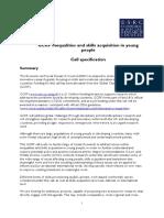 GCRF Skills - Call Specification