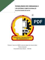 ISC TBD Práctica 2