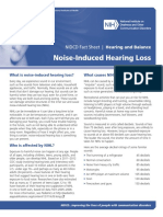 NIDCD Noise Induced Hearing Loss