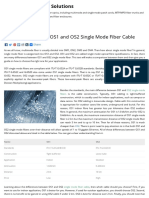 Difference Between OS1 and OS2 Single Mode Fiber Cable - Fiber Optic Cabling Solutions