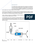 Características Generales y Metodología Experimental