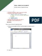 Tutorial Formato de Documento NORMAS APA