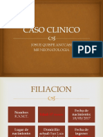 Caso Clinico Craneosinostosis