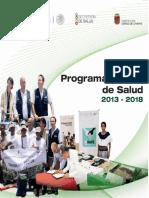 2.- Programa Estatal en Salud