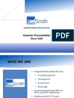 Landsmith Presentation