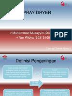 Spray Dryer Ppt