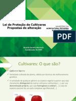 Projeto Lei Protec Cultivares