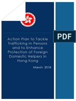 Action Plan to Tackle Trafficking in Persons and to Enhance Protection of Foreign Domestic Helpers in Hong Kong