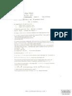 Combined Maths English Third Term Test 2010 Gr 12 RCM