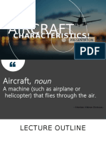 Group 1 - Aircraft Characteristics