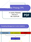 5279268 Transfer Pricing Management Control Systems