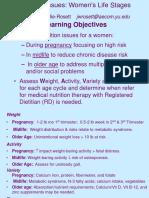 Obgyn Nutrition Presentation 5 03