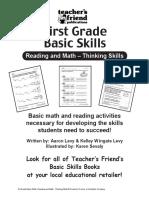 Scholastic 1st Grade Skills (Reading & Math)