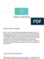 Best Laparoscopy hospital in Chennai-Mint Hospital